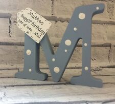1st Birthday gift- Personalised handmade wooden letter for boy or girl