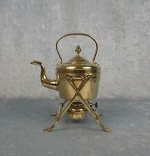 Brass Spirit Kettle With Stand & Burner