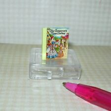"""Miniature """"The Emperor's New Clothes"""" Children's Book Color-Text: DOLLHOUSE 1/12"""