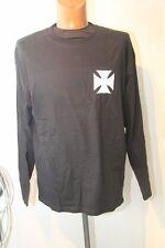 Original tee shirt ML  Biker GILDAN croix pattée taille L neuf