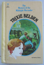 TRIXIE BELDEN #30 Mystery of the Midnight Marauder FIRST Edition Oval Hardback