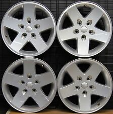 "NEW Jeep Wrangler Sport 17"" Factory OEM Wheels Rims 2007-16 9074 Free Shipping!"