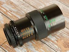 SUPERB Nikon Digital fit Vivitar 55mm MACRO 1:1 Lens F2.8 close up & portrait