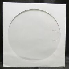 500 Paper CD CD-R DVD Sleeves with Window & Flap white cases #102177B