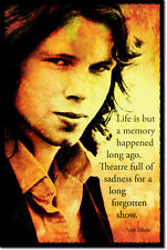 NICK DRAKE ART PHOTO PRINT POSTER GIFT QUOTE
