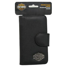 Harley Davidson Credit Card and Cash Wallet Case fits ZTE Warp 7