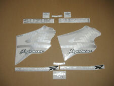 Hayabusa GSX1300R silver carbon fiber decals stickers graphics set kit k3 k4 k5