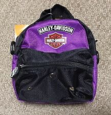 "Harley Davidson 6"" Mini Me purple ""backpack"" NWT"