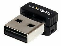 New Genuine StarTech USB 150Mbps Mini Wireless N Network Adapter 802.11n/g 1T1R