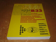 Chess Book: Monograph B33 Lasker / Sveshnikov  by Chess Informant