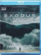 EXODUS - DEI E RE (BLU-RAY 3D) - EDIZIONE DA CLLEZIONE 3 DISCHI