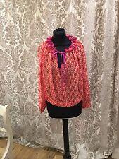 Pinko Ladies Silk Shirt Size 12