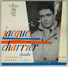 Jacques Charrier 45 Tours 1959 Pierre Nicot