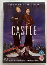 CASTLE, COMPLETE FIRST SEASON, 3-DISC DVD