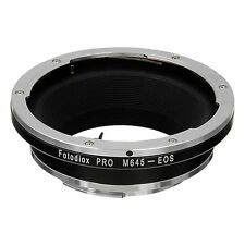 FOTODIOX objectivement Adaptateur Mamiya 645 Lentille pour Canon EOS Caméra