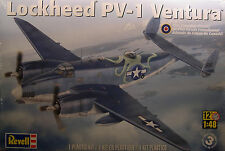 REVELL 1:48 SCALE WWII LOCKHEED PV1 VENTURA TWIN ENGINE BOMBER PLASTIC MODEL KIT