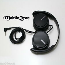 *ORIGINAL SONY MDR-ZX110 EXTRA BASS STEREO HEADPHONE EARPHONES BLACK
