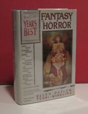 Year's Best Fantasy And Horror-Third Annual Collection-Signed by Joseph A Citro
