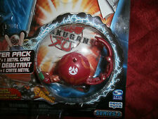 BAKUGAN BATTLE BRAWLERS BOOSTER PACK SERIES 1  RED CENTIPOID