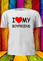 I LOVE MY BOYFRIEND Heart Tumblr T-shirt Vest Tank Top Men Women Unisex 1801