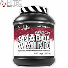 Amino Anabol 200 Caps Hardcore Anabolic Whey Protein BCAA Muscle Growth Pills