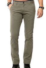 Bnwt Selected Homme Three Paris Dusty Chino Pants In Dusty Olive W30 L32 (R118)
