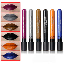 6Pcs Color Waterproof Liquid Makeup Lip Pen Matte Lipstick Lipgloss Long Lasting