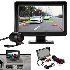 "4.3"" TFT LCD Car Rear View System Monitor + Night Vision Backup Reverse Camera"