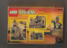 1993 LEGO CASTLE MEDIEVAL KNIGHTS Minifigure Set 6105 SEALED IN BOX MUST SEE PIC