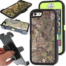 for iphone 5/5s case new hybrid outer defender xtra gre series case w/belt clip