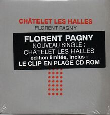 ★☆★ CD Single Florent PAGNY Chatelet les halles 3-Track CARD SLEEVE sticker  ★☆★