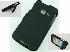 Shell Holster Combo Case Cover Samsung i547 Galaxy Rugby Pro Belt Clip kickStand