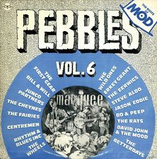 PEBBLES - VOL 06 -RARE 60s GARAGE PSYCH COMP LP