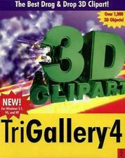 TriGallery 4 v2.0 w/ Manual PC CD collection tools construction 3D clipart image