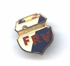 pin FRV Romania Volleyball Federation badge size 11x15 mm