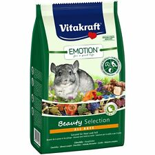 Vitakraft Emotion Bella All Ages, Chinchilla - 600g - Comida Roedor Chinchilla