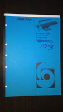 Bang & Olufsen Service Manual Beogram cd 50 type 5111 12 13 14 15 terminal 5005