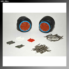Deutsch HDP20 47-Pin Bulkhead Connector kit, 14, 20AWG Solid Contacts (NO RING)