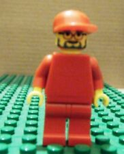 LEGO MINI – RACERS – FERRARI – ENGINEER 2, NO STICKERS, RED CAP – GENTLY USED