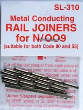 Peco SL-310 N Code 55 Conductive Rail Joiner Pack of 24