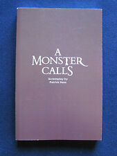A MONSTER CALLS  Script by PATRICK NESS - 1st Appearance in Book Form