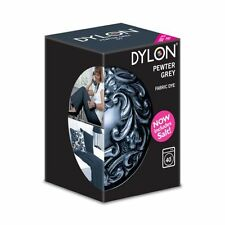 DYLON Pewter Grey Machine Dye 350g New Formulation Incudes Salt!