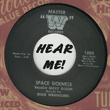ROCKABILLY REPRO: DICKY DIXON - Space Sickness/I Love Her Still MASTER W - GREAT