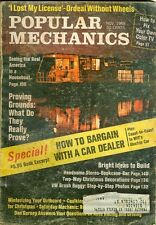 1968 Popular Mechanics Magazine: Bargain With Car Dealer/Houseboat/Fix TV