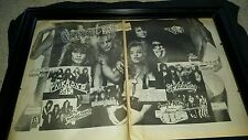 Warrant Chuck Landis' Country Club Rare 1988 Concert Promo Poster Ad Framed!