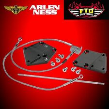 Arlen Ness Forward Control Extension Kit 3 inch Black For Harley FXST FXS 07-611