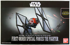 Bandai Star Wars First Order Special Force Tie Fighter 1/72 kit 032199