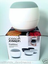 NEW JOSEPH JOSEPH PREP & STORE 4 PIECE NESTABLE SERVE FOOD CONTAINER BOWL SET