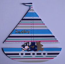 BABY SHOWER GARLAND BUNTING  YACHT THEME PARTY + FREEBIES 012