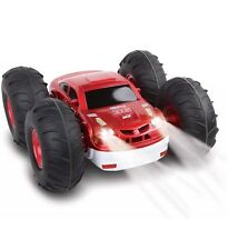 Flip Stunt Rally Radio Control 2 In 1 Red White   Car Blue Hat Wireless RC New